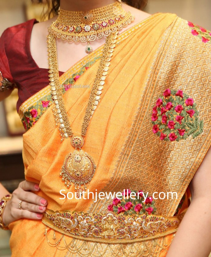 manepally gold necklace designs