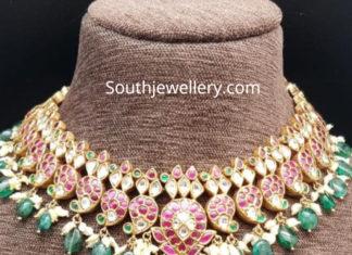 mango ruby necklace