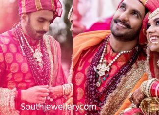 ranveer singh wedding jewellery