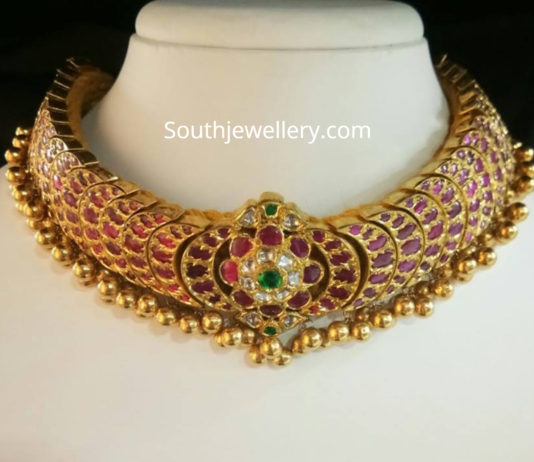 ruby tussi necklace
