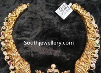 antique gold nekclace