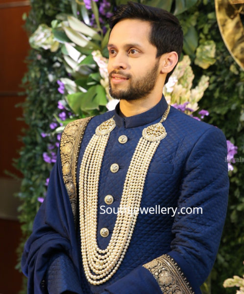 kashyap parupallu reception jewellery