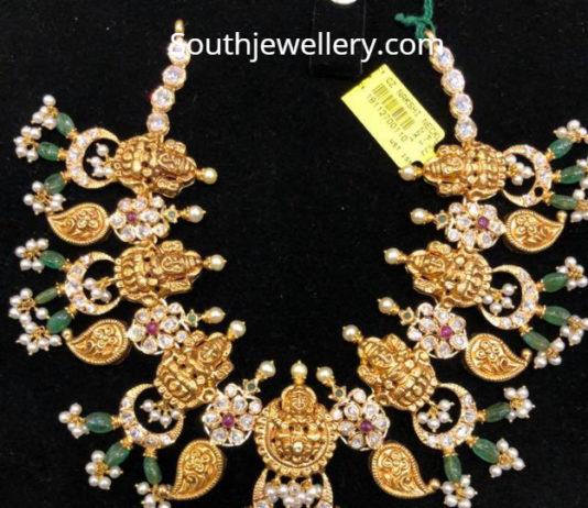 lakshmi mango necklace