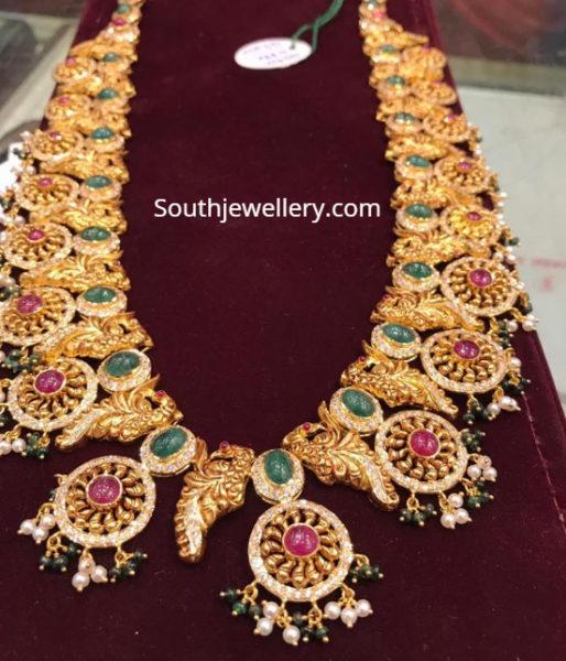 latest gold haram designs