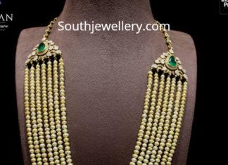 layered pearl mala