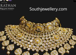 polki diamond choker navratahm jewellers