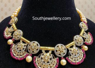 polki diamond necklace satyanarayan sons
