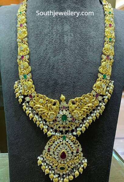 polki diamond peacock haram