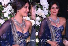 priyanka chopra wedding reception jewellery by sabyasachi heritage jewelry