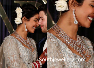 priyanka chopra wedding reception jewellery