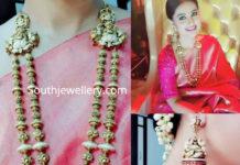 sneha prasanna gold jewellery