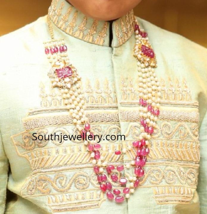 south sea pearl mala for boys
