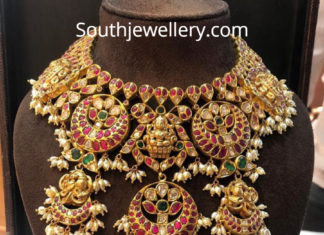 traditional lakshmi necklace