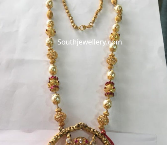 nakshi balls chain with kada pendant