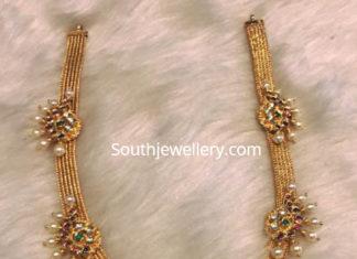 antique gold haram latest models