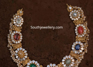 pacchi navrathan necklace