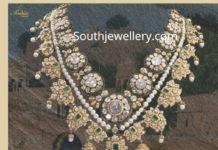 polki diamond necklace latest designs