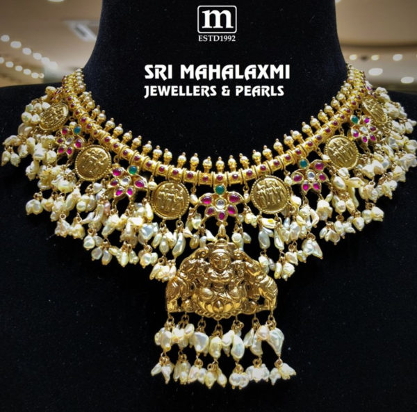 ram parivar guttapusalu necklace