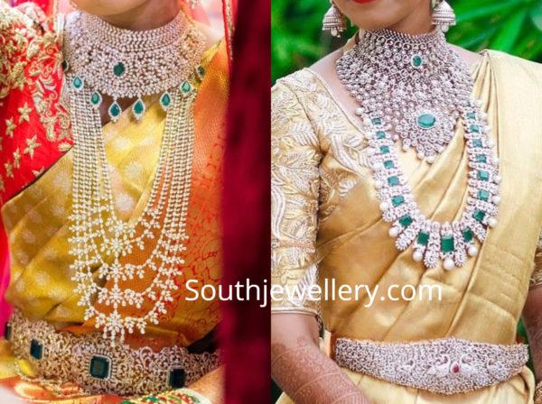 telugu brides diamond jewellery