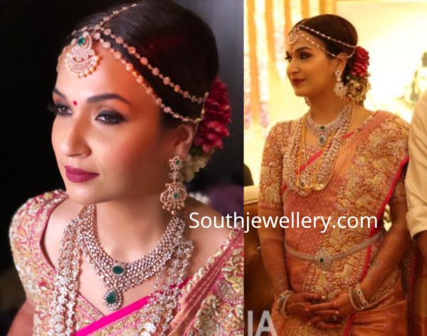 soundarya rajinikanth wedding jewellery