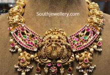 antique gold kundan nekclace