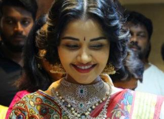 anupama parameswaran diamond jewellery