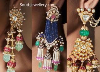 designer earrings khanna jewellers
