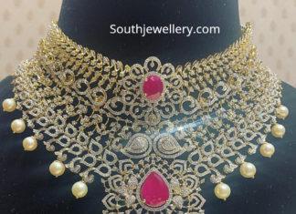diamond choker indian