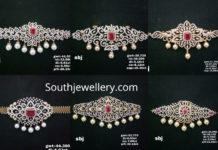 2 in 1 diamond choker plus vanki designs