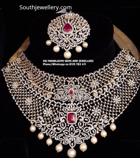 diamond necklace removable pendant