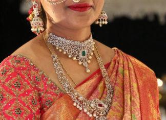 diamond necklace haram set