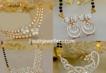 diamond pendants for mangalsutra chains