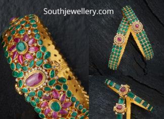 emerald bangles designs