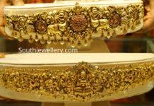 gold vaddanam designs 2019