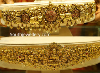 gold vaddanam designs 2019