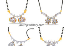 nallapusalu chain diamond pendants
