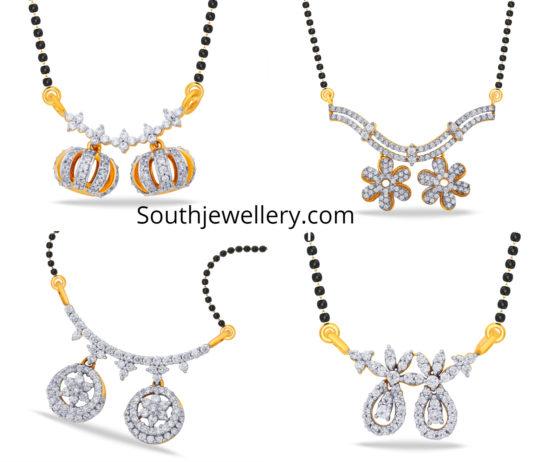 nallapusalu chain diamond pendants