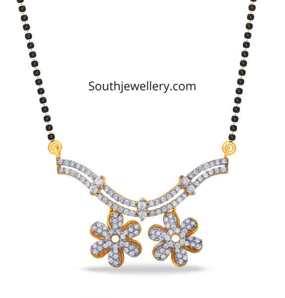 mangalsutra diamond-pendant