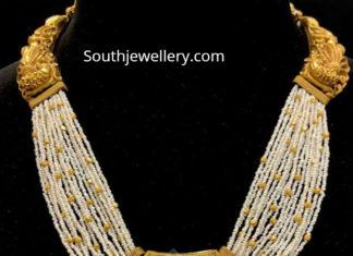 pearl haram gold pendant-2
