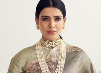 samantha akkineni in kishandas jewellery