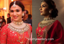 soundarya rajinikanth marriage reception jewellery