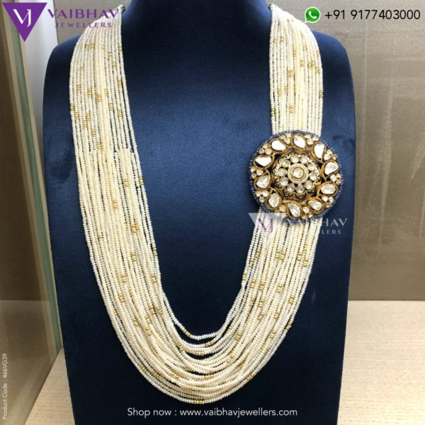 pearl necklace indian