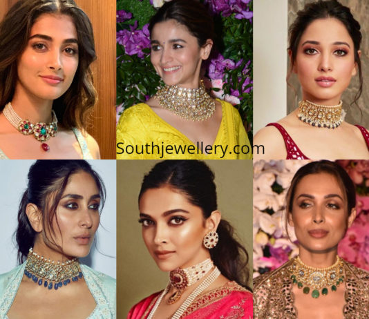 jewellery worn by indian celebrities