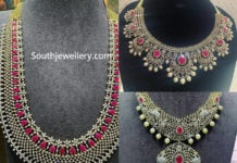 diamond and ruby necklace designs