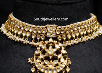 polki diamond necklace arnav