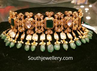 uncut diamond choker premraj jewellers