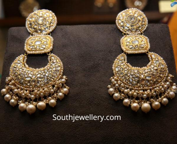 uncut diamond earrings 2
