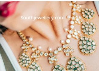 uncut diamond necklace artham jewels