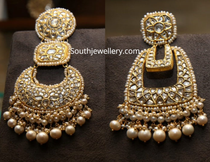 uncut diamond earrings 2