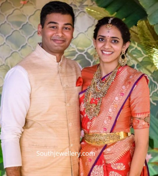 venkatesh daughter wedding jewellery